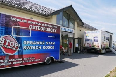 mobilne centrum diagnostyki osteoporozy
